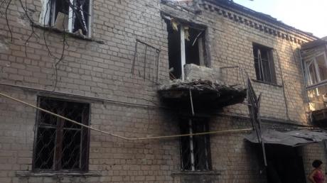 В результате боев в Донецке Путиловка практически стерта с лица земли