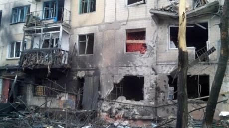 Сводка разрушений Донецка, Макеевки и Авдеевки 12 февраля