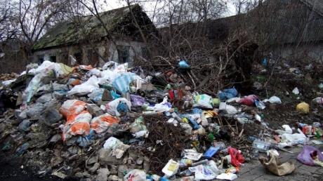 мусор, донецк, днр, скандал, пушилин, выборы
