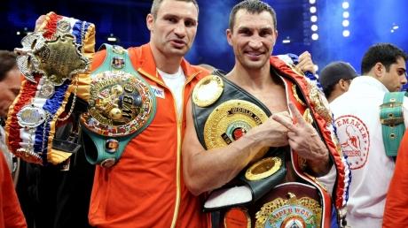 Братья Кличко могли получить за бой между собой 100 млн. долларов
