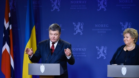 норвегия, санкции, украина, петр порошенко, крым, суверенитет, россия, донбасс, порошенко в норвегии, порошенко, приватизация, приватизация в украине