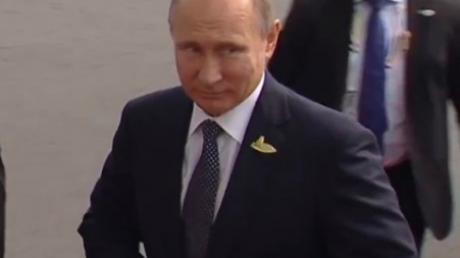 Саммит G20 в  Гамбурге: Путин так надеется на встречу с Дональдом Трампом, что прибыл на саммит одним из первых, - кадры