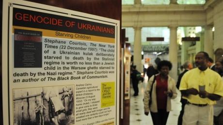 Америка вспоминает Голодомор в Украине: в Вашингтоне открылась выставка