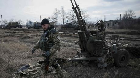 В районе Широкино нацгвардия уничтожила склад боеприпасов боевиков, - Шкиряк