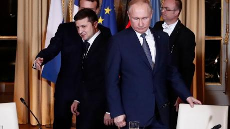Песков, Россия, Украина, Донбасс, Нормандский формат, Путин, Переговоры