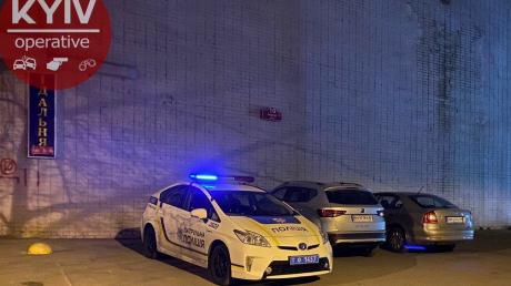 киев, минирование, Александровская больница, коронавирус, полиция