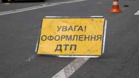 Ребенок на автомобили влетел в Коломыйский городской совет