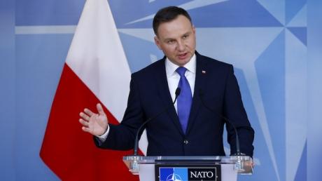 Президент Польши Дуда призвал НАТО показать характер и принципиальность в разговоре с Россией
