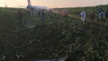 """Авария с самолетом """"Airbus A321"""" в России: всплыл странный факт с утечкой топлива - кадры"""