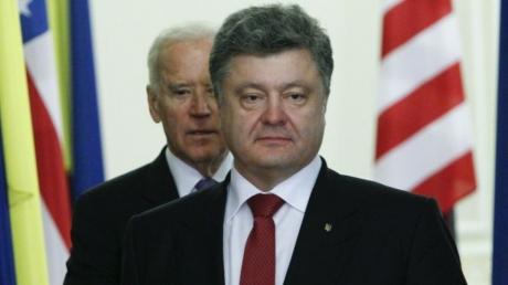 Порошенко и Байден обсудили срыв перемирия со стороны ДНР и ЛНР