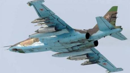 """""""Азов"""": утром был сбит штурмовик СУ-25 ВВС РФ, упал вблизи Куйбышево"""