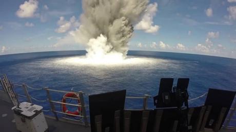 Мощнейший взрыв в Южно-Китайском море: выброс радиации связывают с крушением ядерной подлодки