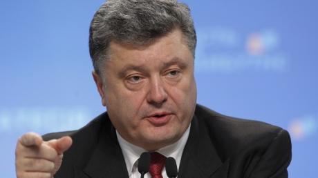 Порошенко: Россия и ее марионетки должны прекратить огонь хотя бы на Пасху