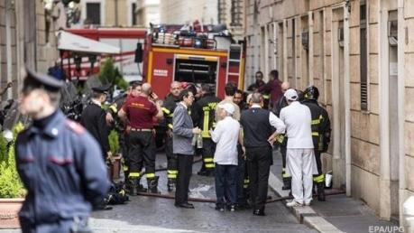 В центре Рима прогремел мощный взрыв: имеются жертвы