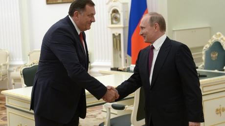 Кремль усиливается в Европе: проросиийский националист Додик побеждает на выборах в Боснии и Герцеговине