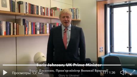 Премьер Британии Джонсон поздравил Украину с Днем Независимости: фраза на украинском языке взорвала Сеть