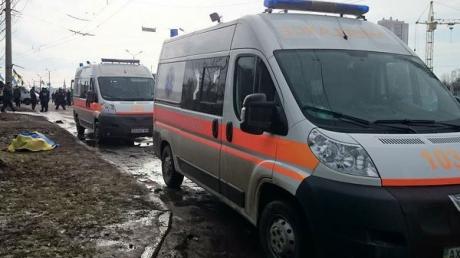 Прокуратура: в Харькове во время мирного марша взорвалась противопехотная мина