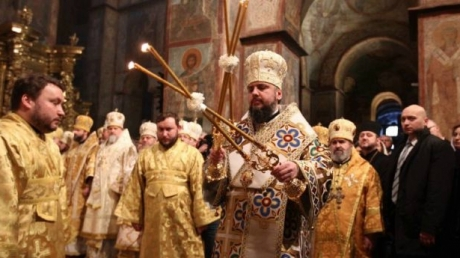 Епифаний официально предстоятель автокефальной ПЦУ: кадры интронизации митрополита