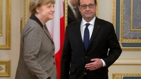 Figaro: в плане Меркель и Олланда речь идет о федерализации и внеблоковости Украины