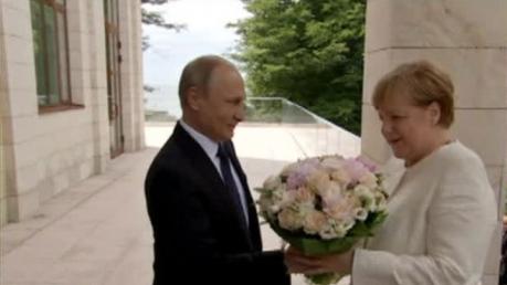 путин, меркель, медведев, сочи, переговоры