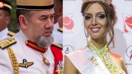 оксана воеводина, фото, свадьба, развод, король малайзии, новости россии