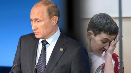 """Путин заговорил о деле Савченко: Россия не будет """"забегать вперед"""""""