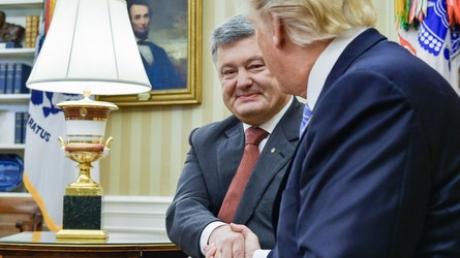 """Россию ждет неприятный сюрприз: Порошенко анонсировал визит в Киев американских министров для подписания важного соглашения об """"оборонных поставках"""" - кадры"""
