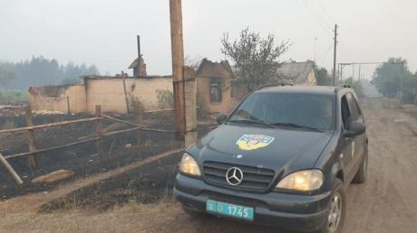 Мощный пожар в Луганской области уничтожил 23 дома – выросло количество погибших