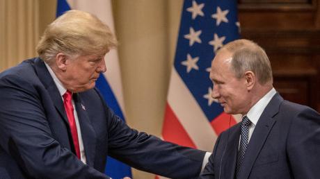 Трамп, Россия, Путин, США.