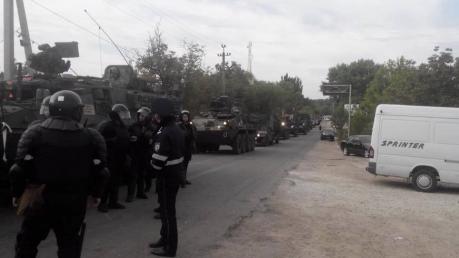 Молдавия, колонна, НАТО, марш, учения