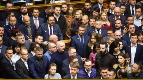 """""""""""Слуга народа"""" ассоциируется с позором"""", – Гонтарева"""