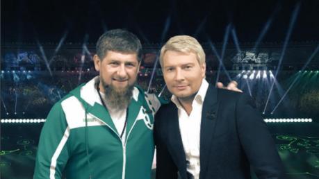 """Когда спинер в трусы упал: соцсети высмеяли танец-""""прогиб"""" Баскова перед Кадыровым в Грозном – кадры"""