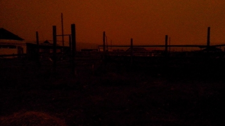 якутия, солнце, тьма, конец света, происшествия, видео