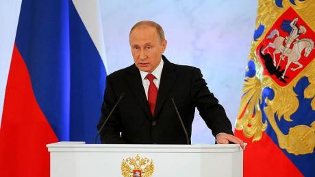 Путин, Федеральное собрание, послание