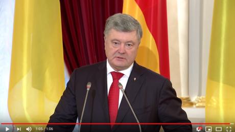 """""""Вон из Украины!"""" - появилось видео ответа Порошенко Путину в ответ на санкции Кремля"""