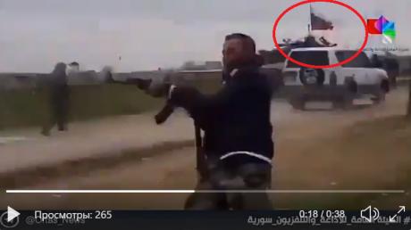 Асадиты под прикрытием россиян обстреляли военных США - американцы открыли встречный огонь: видео