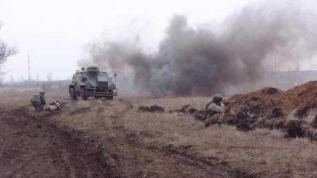 Обострение в зоне АТО: вслед за Авдеевкой ожесточенные бои возобновились в Марьинке