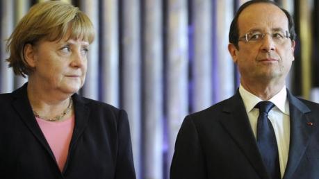 Франция и Германия помогут восстановить банковскую систему в Донбассе