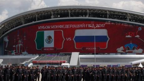 Генеральная репетиция домашнего позора на ЧМ-2018: сборная России бесславно проигрывает Мексике в родных стенах на Кубке конфедераций