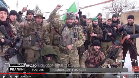 """Чеченские боевики, колонны российской бронетехники: СМИ показали, что происходит в тылу """"ЛНР"""", - кадры"""