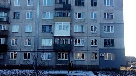 В поселке Горняк из-за бомбежки погибло 4 мирных жителя, ранено 6