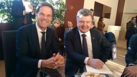 Украина, политика, Нидерланды, референдум, общество, Порошенко, Рютте, безвизовый режим, договор об ассоциации с ес