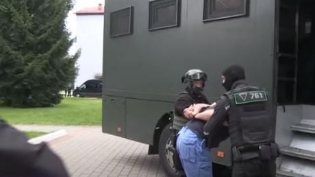 Российских боевиков, задержанных под Минском, требуют передать Украине для суда