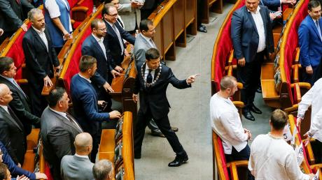 Зеленский, Президент, Фесенко, Выборы, Разумков.