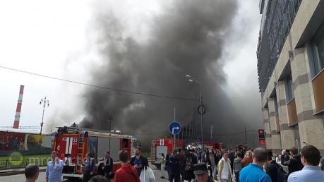 Пожар на Киевском вокзале в Москве: при разборе завалов спасатели обнаружили тела  погибших людей