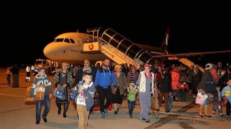 Турция продолжает эвакуацию сограждан из зоны АТО на Донбассе: два самолета привезли больше 300 человек из Славянска