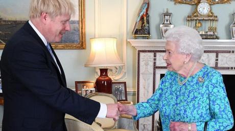 королева, великобритания, премьер Джонсон, похудение
