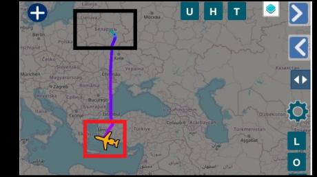 Члены семьи Лукашенко, возможно, покинули Беларусь: лайнер Bombardier вылетел в Турцию