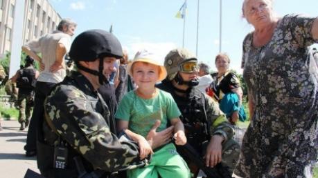 Как это было: ровно три года назад бойцы ВСУ и добробаты освободили Славянск и Краматорск - кадры