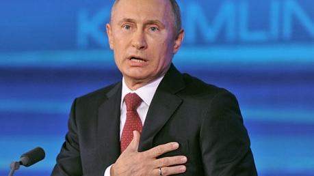 """Речь Путина о краже Крыма у Украины разозлила соцсети: """"Лжец, лицемер, захватчик"""", - видео"""